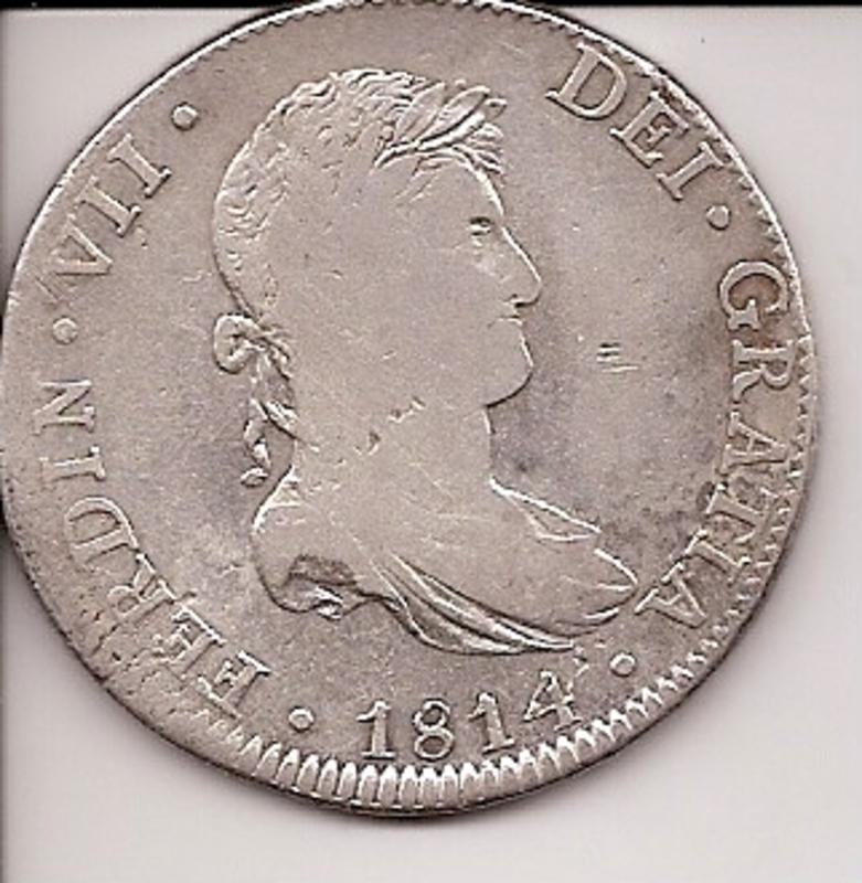 8 reales 1778. Carlos III. Méjico. Oxidaciones limpiadas B99509